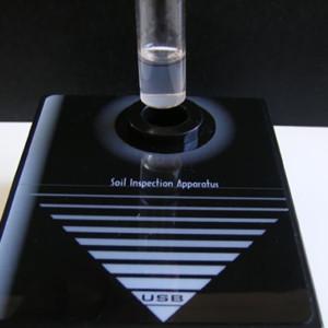 土壌分析・補助器具「デジタル検定器」
